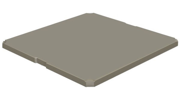 Inorganic cement floor (mặt trên)